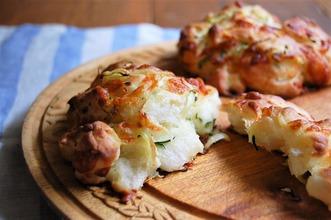 チーズとジャガイモのニース風ブレッド