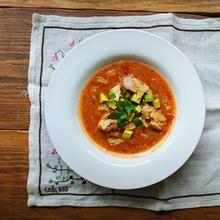 トルティーヤスープ
