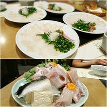 河豚を食べる
