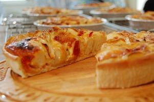 ジャガイモのディープディッシュピザ