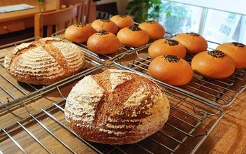 あんパンとカンパーニュ