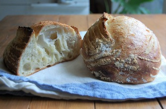 ホームベーカリーで作るハードパン