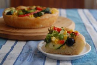 夏野菜のフォカッチャ