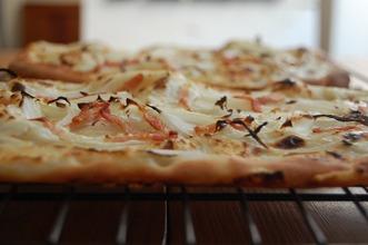 アルザス風ピザ