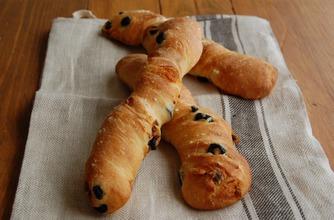 5月はねじりフランスパン