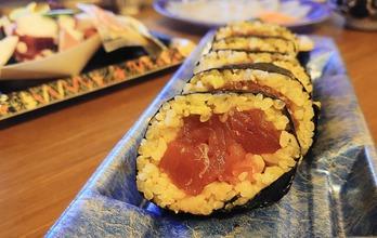 玄米の巻き寿司